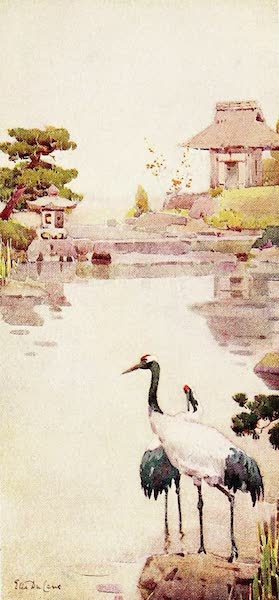 The Flowers and Gardens of Japan - The Storks (1908)