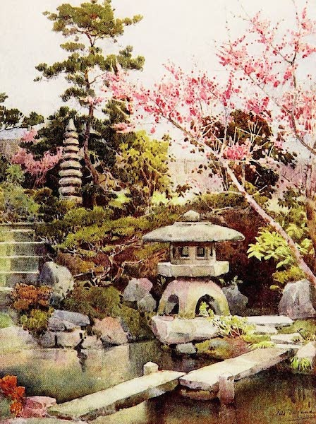 The Flowers and Gardens of Japan - An Old Garden (1908)