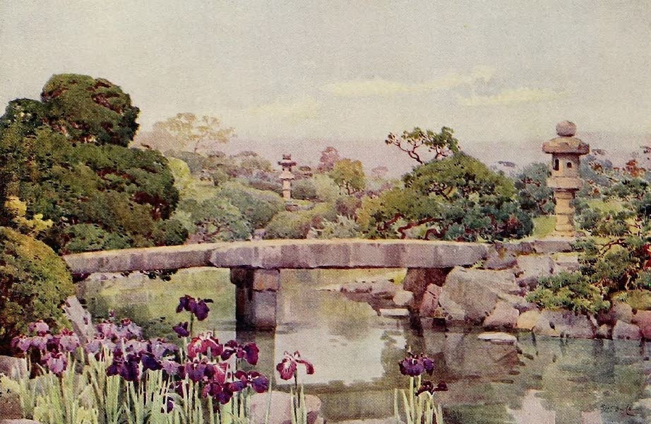 The Flowers and Gardens of Japan - Satake Garden, Tokyo (1908)