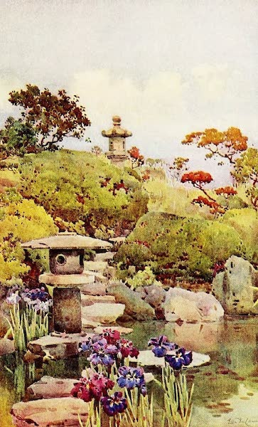 The Flowers and Gardens of Japan - A Tokyo Garden (1908)