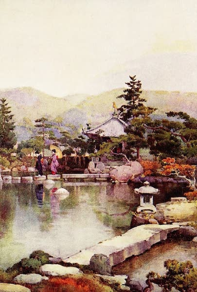 The Flowers and Gardens of Japan - A Landscape Garden (1908)