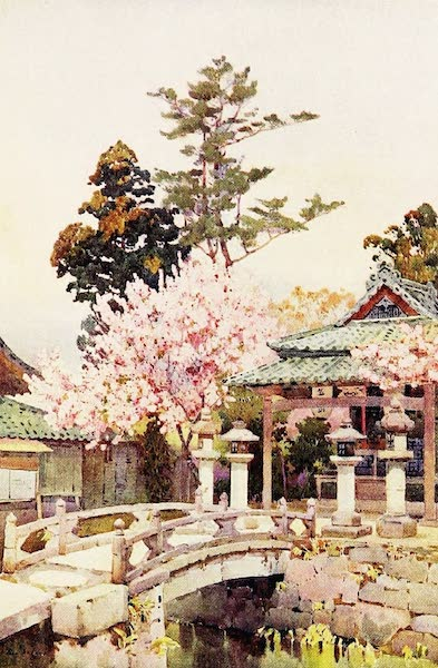 The Flowers and Gardens of Japan - A Shrine at Kyomidzu (1908)