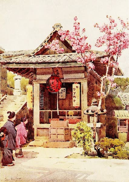 The Flowers and Gardens of Japan - A Buddhist Shrine (1908)