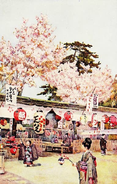 The Flowers and Gardens of Japan - The Feast of the Cherry Blossoms (1908)
