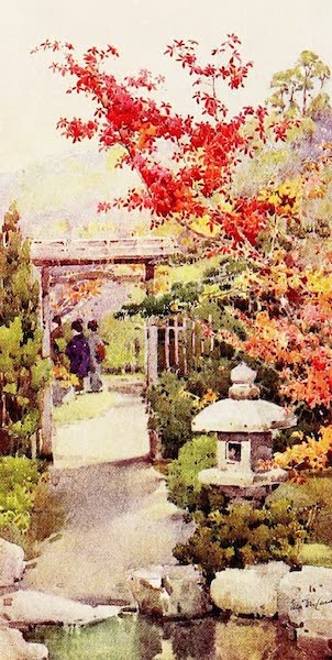 The Flowers and Gardens of Japan - The Scarlet Maple (1908)