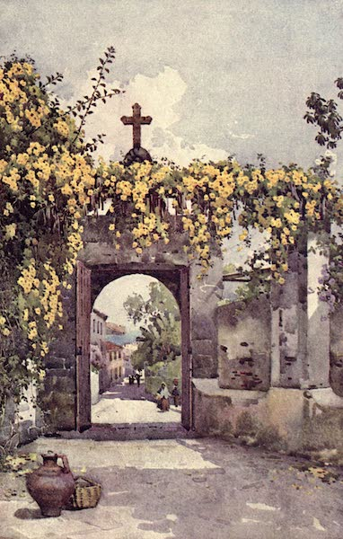 The Flowers and Gardens of Madeira - A Chapel Doorway (1909)