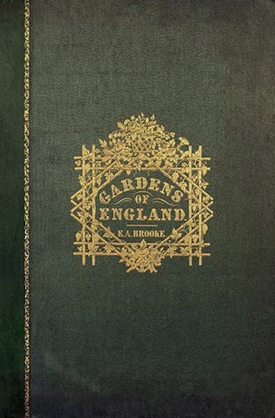The Gardens of England - Front Cover (1858)