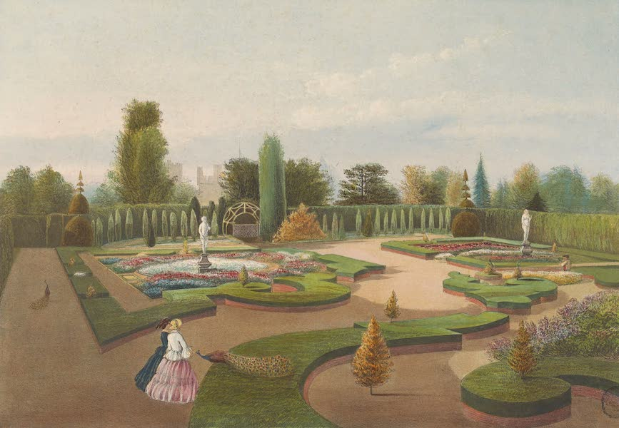 "The Gardens of England - ""The Alhambra Garden"", Elvaston Castle (1858)"