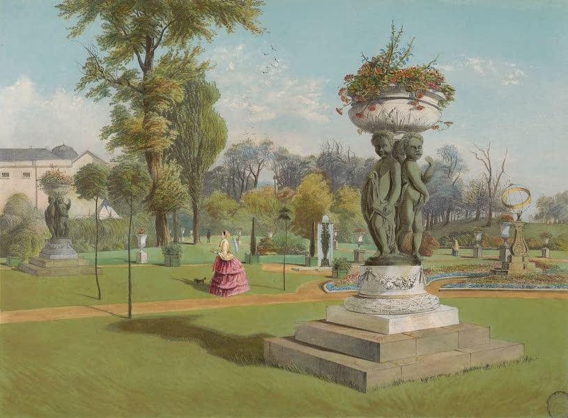 The Gardens of England - The Terrace Garden, Woburn Abbey (1858)