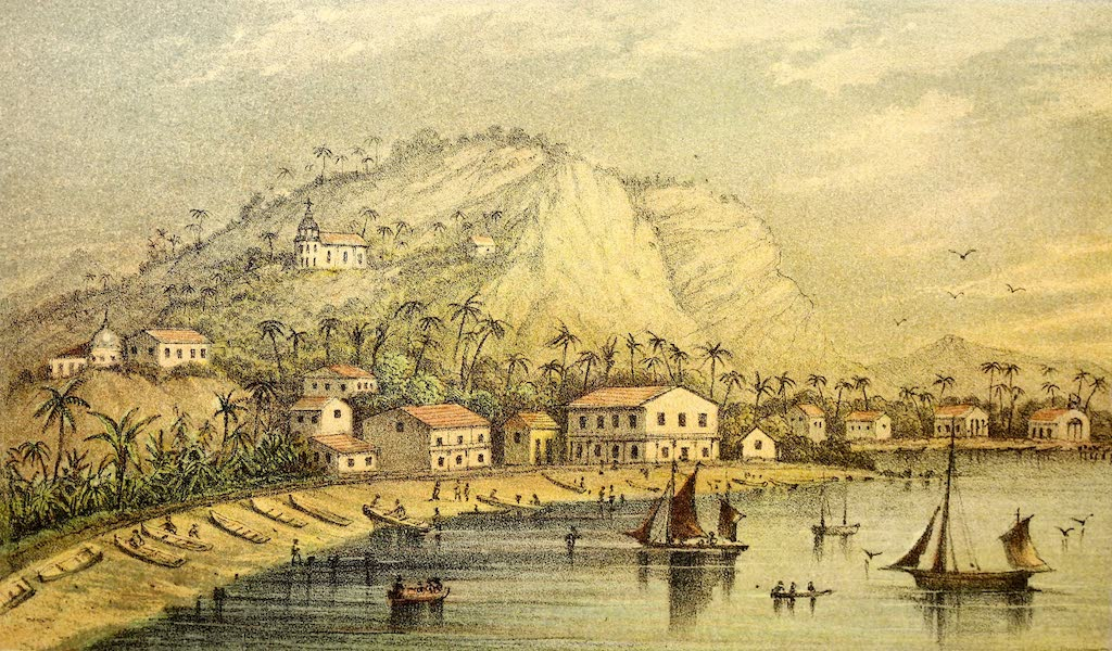The Gate of the Pacific - Eastern Suburb of Panama Railway - Terminus on the Right (1863)