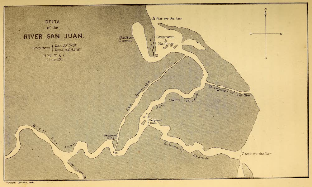 The Gate of the Pacific - Delta of the River San Juan (1863)
