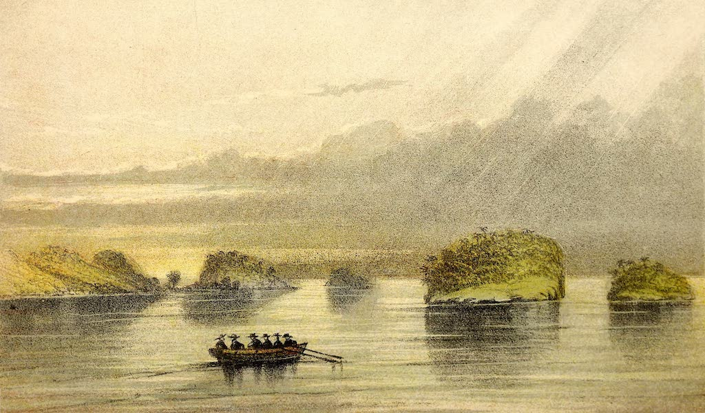 The Gate of the Pacific - Eastern End of Gorgon Bay (1863)