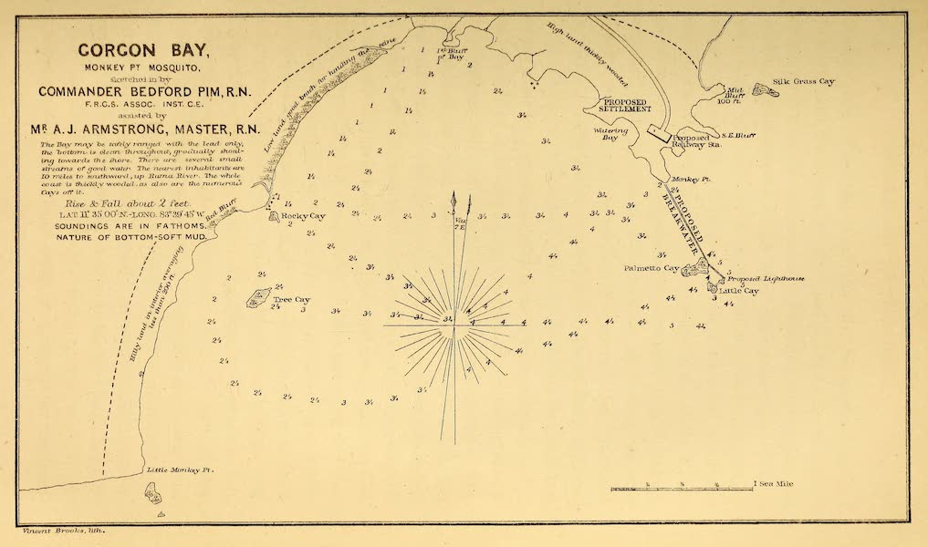 The Gate of the Pacific - Gorgon Bay (1863)