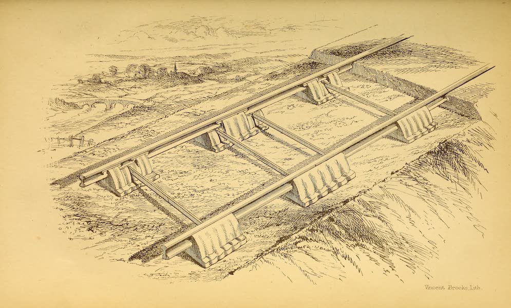 The Gate of the Pacific - [Railroad Drawing] (1863)