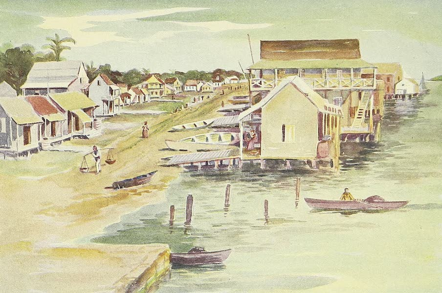 The Golden Caribbean - Main Street of Bocas del Toro (1900)