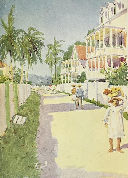 The Golden Caribbean - Street in Belize (British Honduras) (1900)