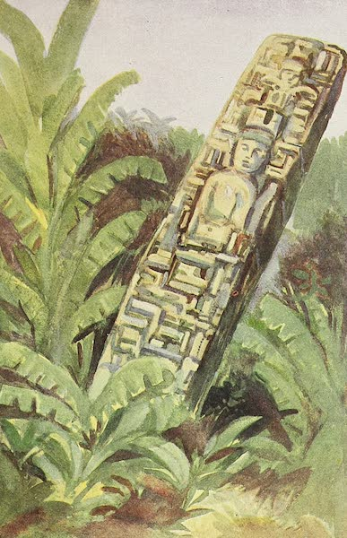 The Golden Caribbean - Maya Monolith (Belize) (1900)
