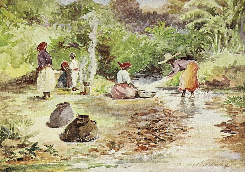 The Golden Caribbean - Belize (Washerwoman) (1900)