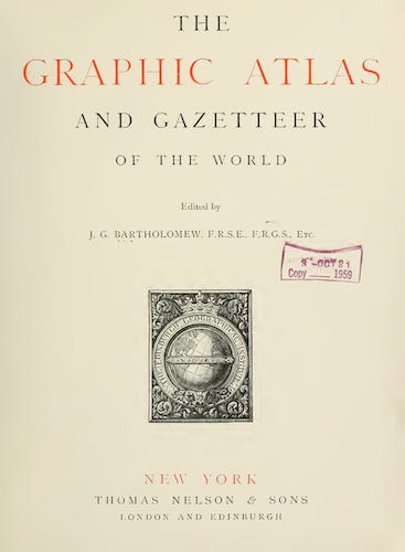 California Digital Library - The Graphic Atlas and Gazetteer of the World
