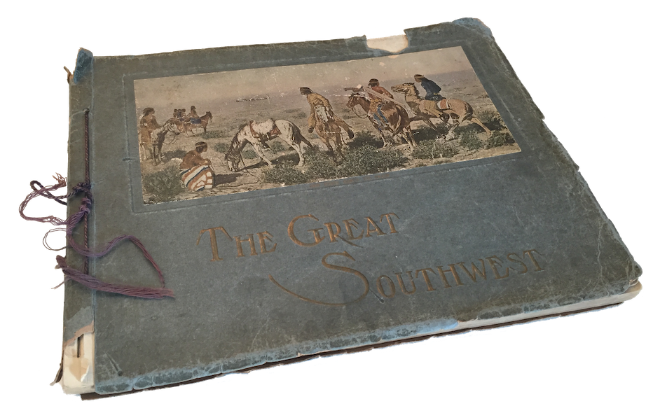 The Great Southwest - Book Display (1919)