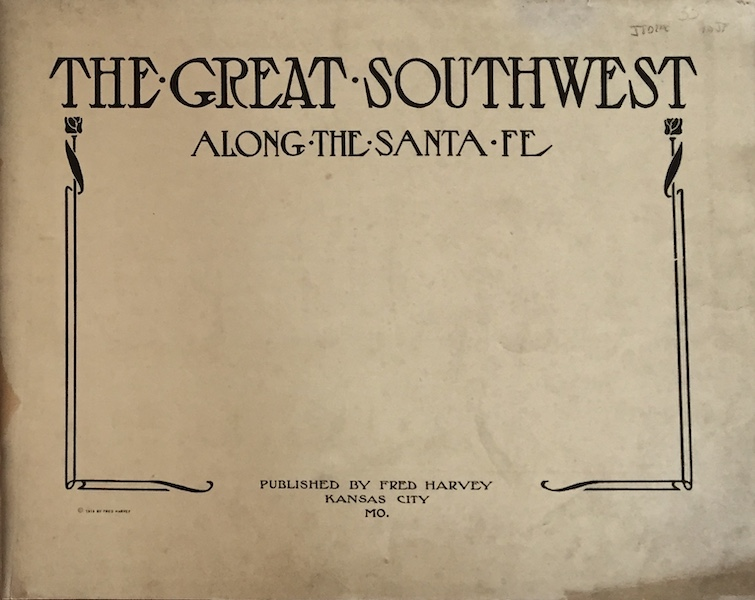 The Great Southwest - Title Page (1919)