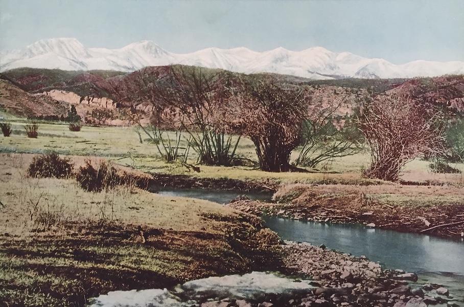 The Great Southwest - The Snowy Range near Trinidad, Colorado (1919)