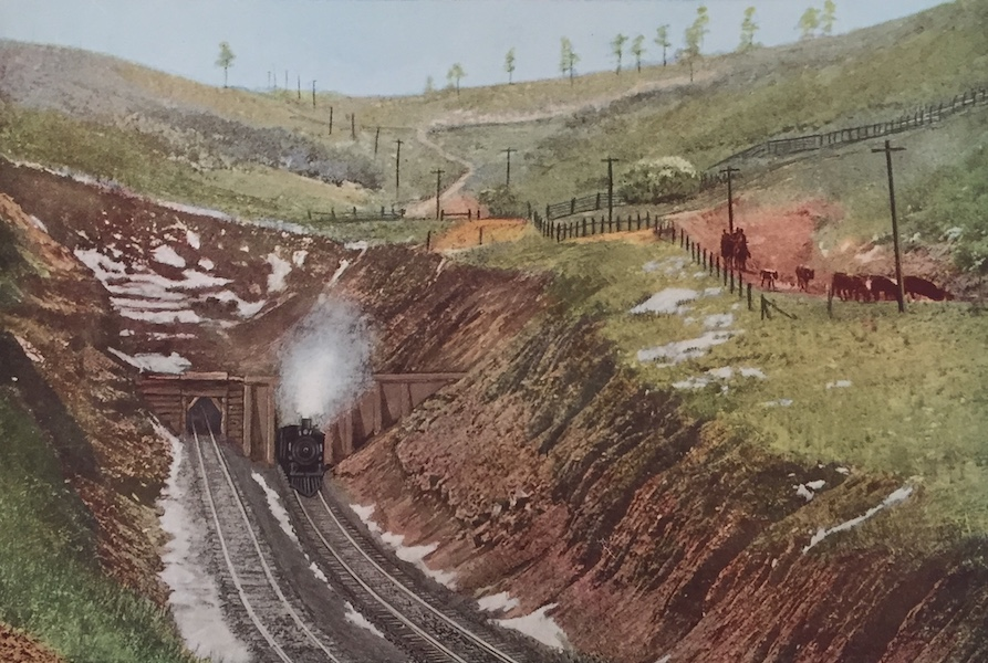 The Great Southwest - Raton Tunnel, Highest Point on the Santa Fe (1919)