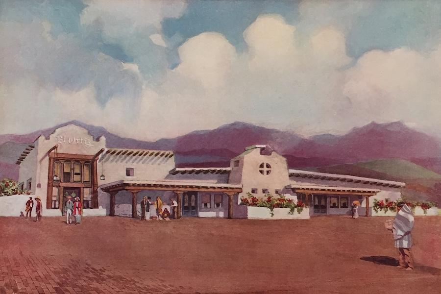 The Great Southwest - El Ortiz, Lamy, New Mexico (1919)