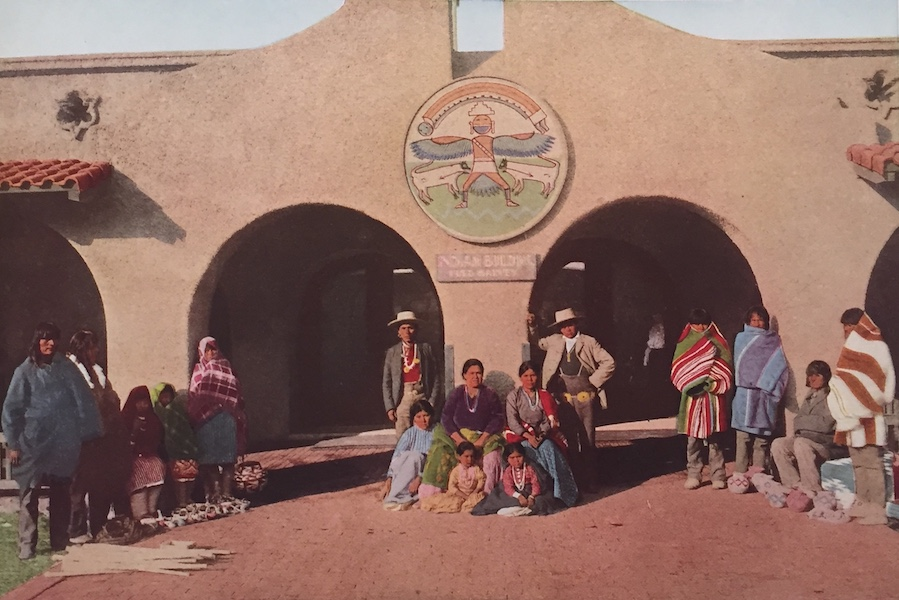 The Great Southwest - Indian Building, Albuquerque, New Mexico (1919)