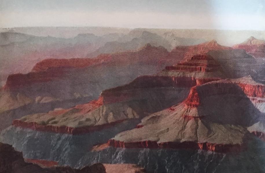 The Great Southwest - Grand Canyon, Arizona, Sunset From Hopi Point (1919)
