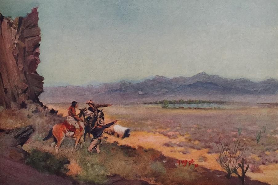 The Great Southwest - Mirage on the Desert, Arizona (1919)