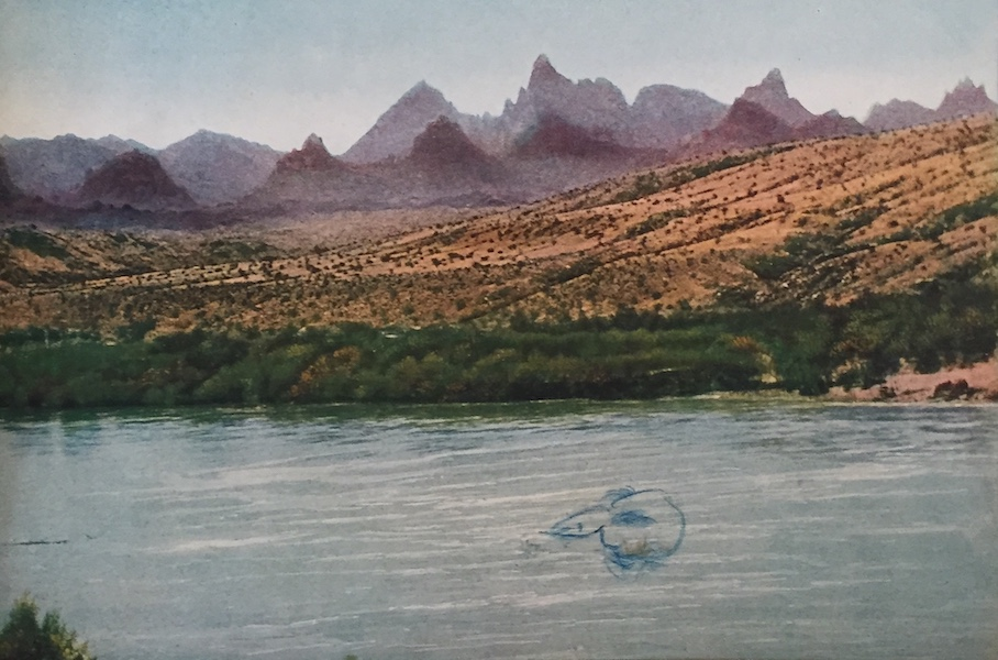 The Great Southwest - Needles Mountains and Colorado River, California (1919)