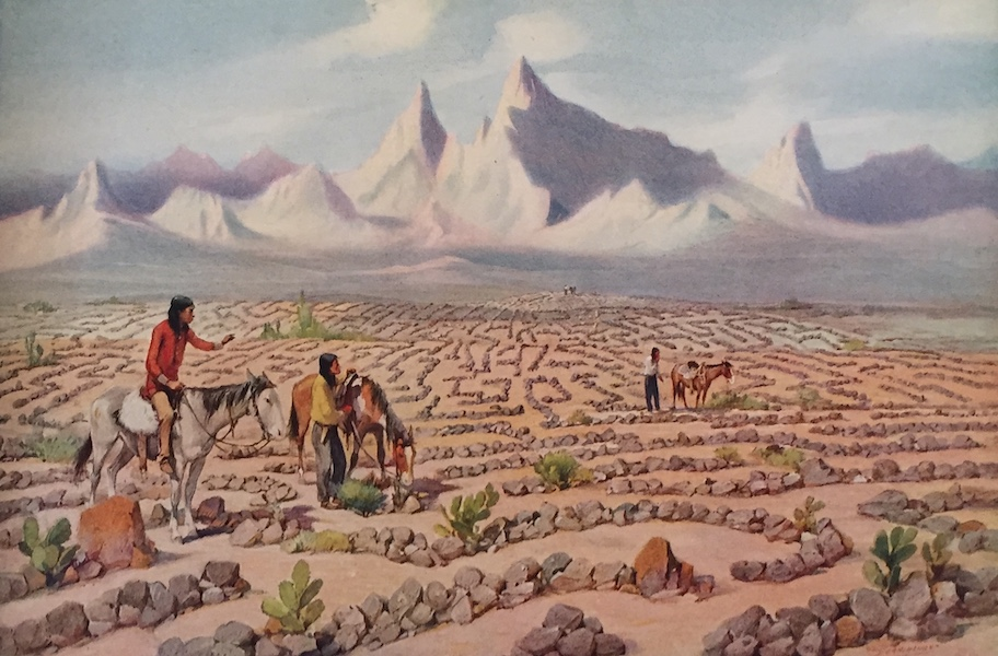 The Great Southwest - Mystic Maze of the Mojave Indians near Needles, California (1919)