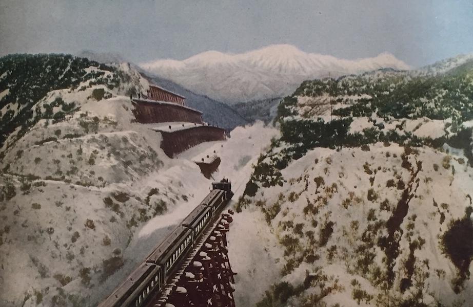 The Great Southwest - Cajon Pass at the Summit of the Coast Range, California (1919)