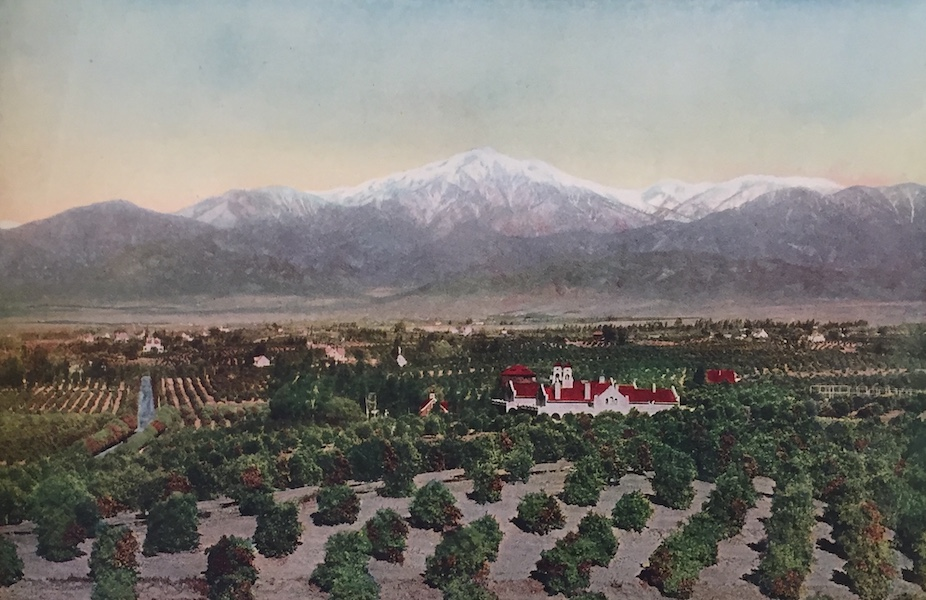 The Great Southwest - Redlands, California, View from Smiley Heights (1919)