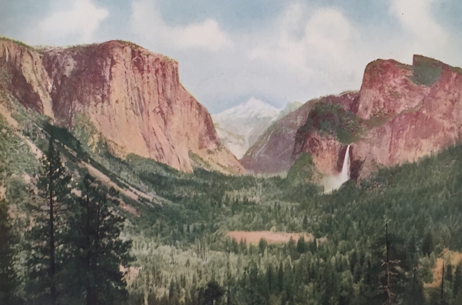 The Great Southwest - Yosemite Valley, California, General View from Artist's Point (1919)