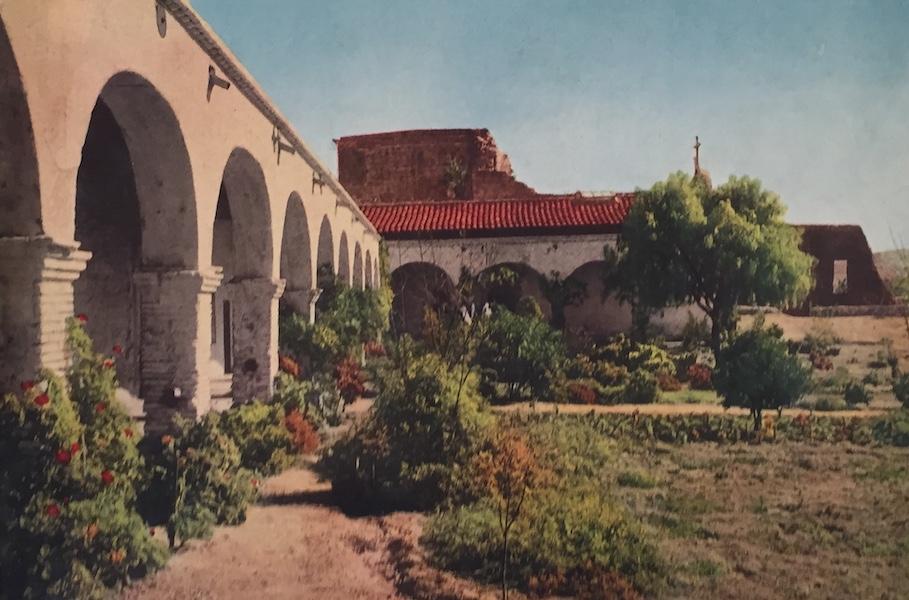 The Great Southwest - Juan Capistrano Mission, California (1919)