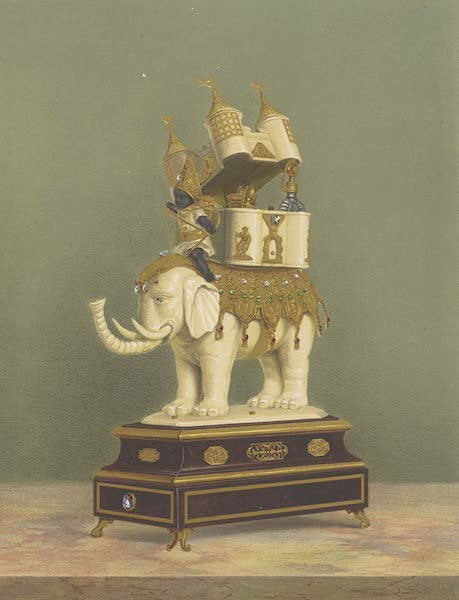 The Green Vaults Dresden - An Indian Toilet Coffret, borne by an Elephant (1862)