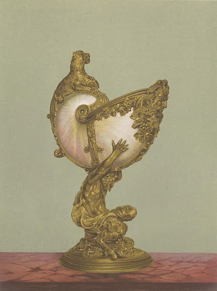 The Green Vaults Dresden - Nautilus Shell, mounted as a Drinking Cup (1862)