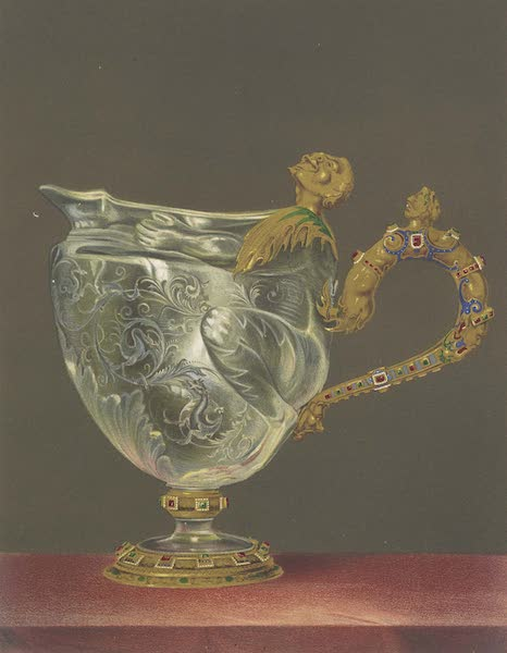 The Green Vaults Dresden - Large Ewer in Rock Crystal (1862)