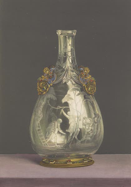 The Green Vaults Dresden - Flask or Bottle of Rock Crystal (1862)