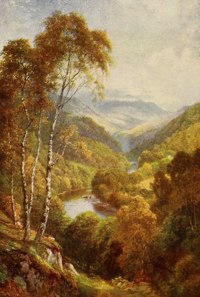The Heart of Scotland Painted and Described - The Pass of Killiecrankie (1909)