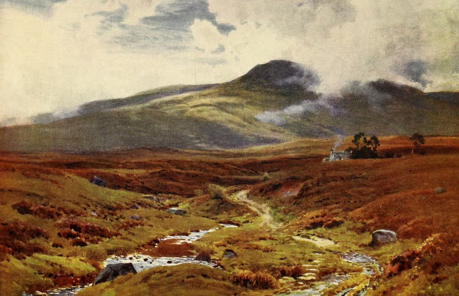 The Heart of Scotland Painted and Described - A Highland Moor (1909)