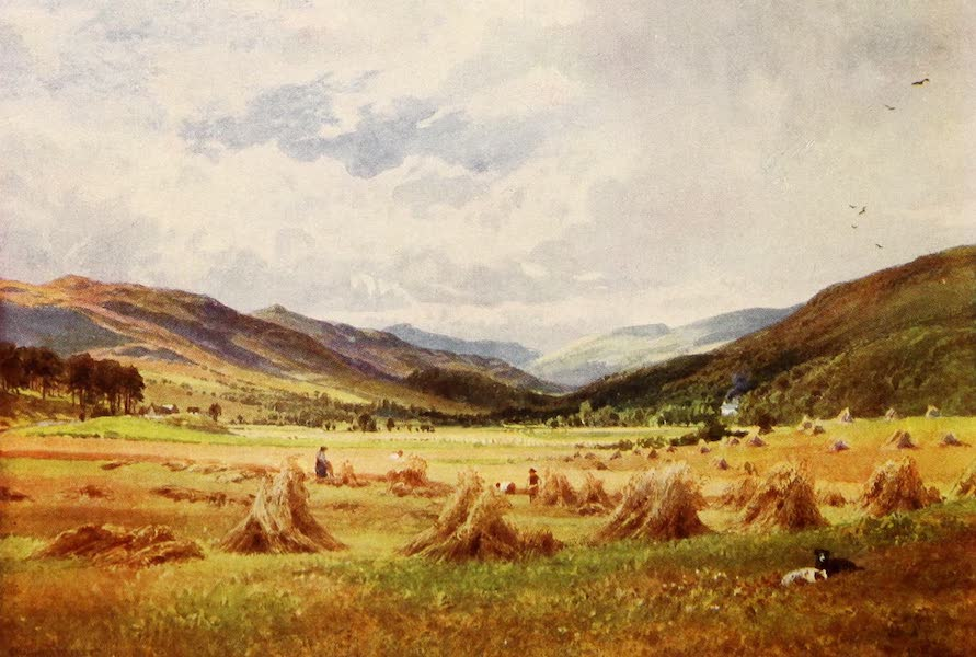 The Heart of Scotland Painted and Described - A Highland Strath (1909)