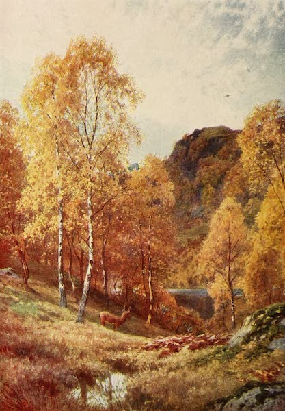 The Heart of Scotland Painted and Described - Autumn in the Highlands (1909)