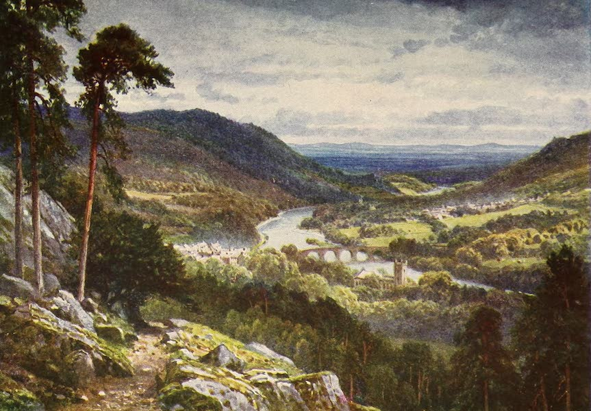 The Heart of Scotland Painted and Described - Dunkeld and Birnam (1909)