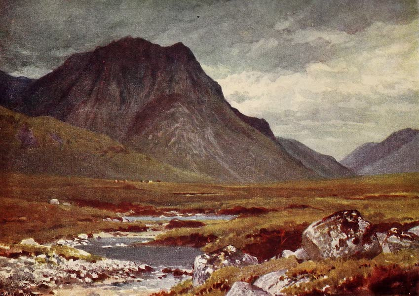 The Heart of Scotland Painted and Described - The Moor of Rannoch (1909)