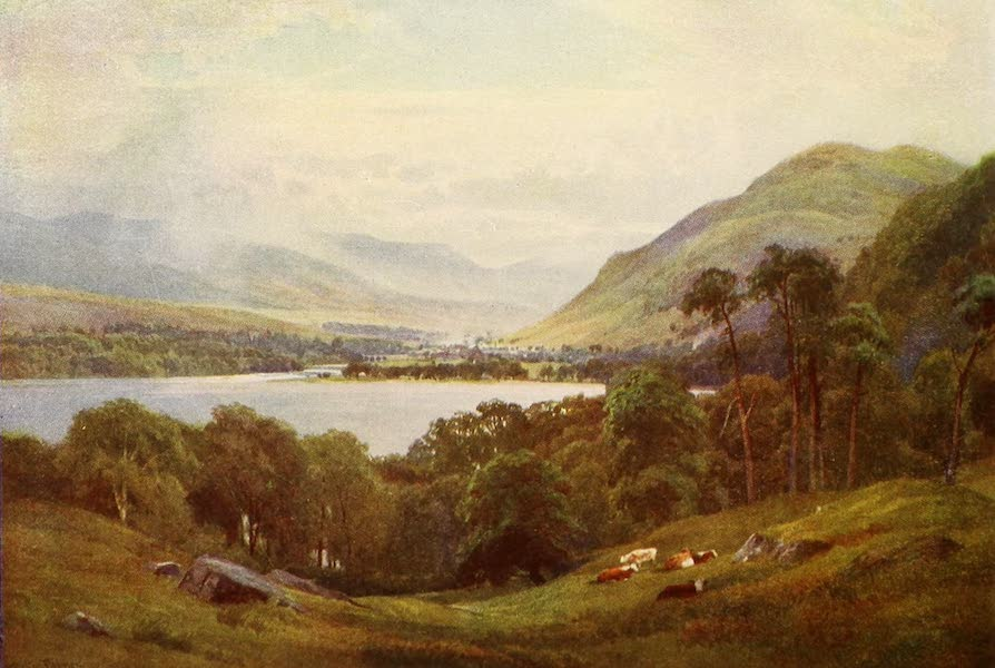 The Heart of Scotland Painted and Described - The Head of Loch Tay (1909)