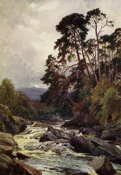 The Heart of Scotland Painted and Described - The Dochart (1909)