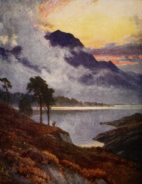 The Heart of Scotland Painted and Described - A Highland Lake (1909)